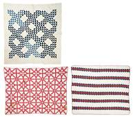 3 SouthernEast TN Pieced Cotton Quilts incl Ocean