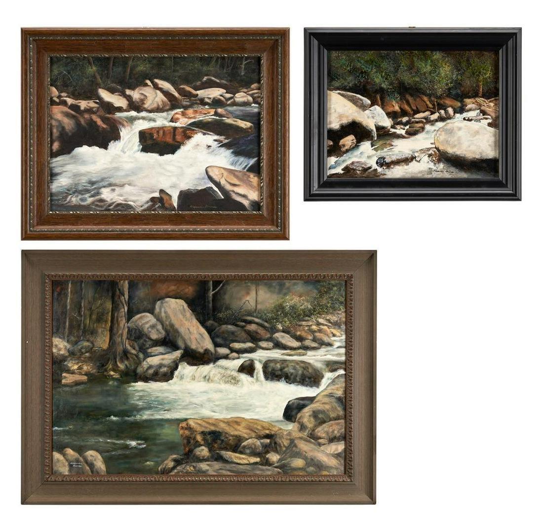 3 Alexander Dumas O/C, Great Smoky Mountain River