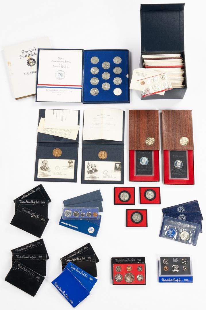 Asst. U.S. Mint Proof Sets, Medals, & More