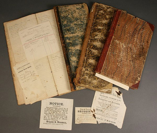 7: Russellville, Tennessee store ledgers, 19th century