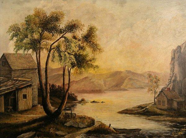 23: Eliot Candee Clark (American/Virginia)   landscape