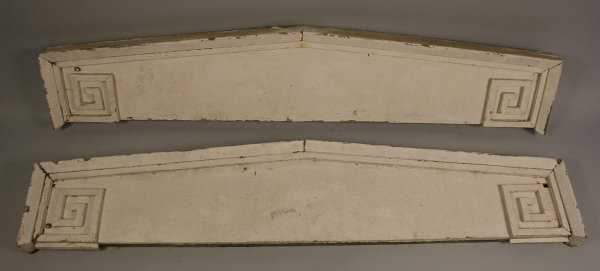 5: Pair of Architectural lintels from Gallatin, TN