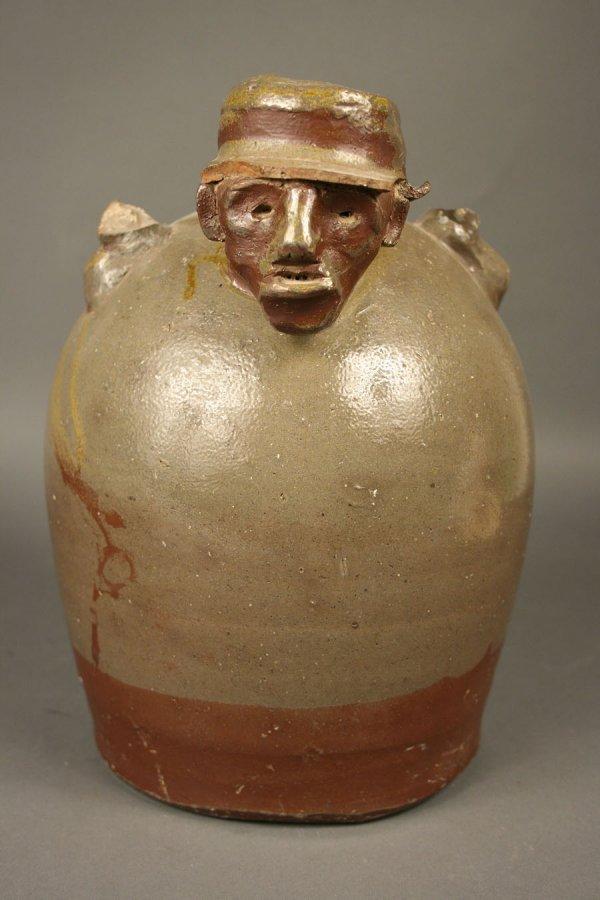150: Southern monkey jug with face, attrib. TN  - 2
