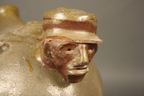 150: Southern monkey jug with face, attrib. TN  - 6