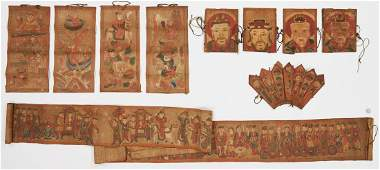 10 Chinese Taoist / Yao Ceremonial Temple Items