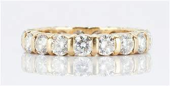 Ladies Cartier Diamond Eternity Ring