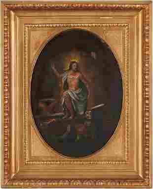 Manner of Brusasorci, The Risen Christ