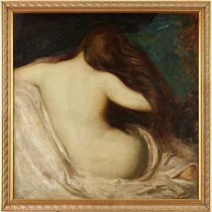 Maude Kaufman Eggemeyer Oil, Nude Woman