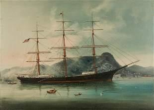 Chinese Export Marine Painting, Challenger
