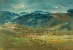 Lamar Dodd O/C, Alabama Valley Landscape