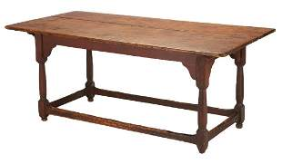 William and Mary Mid-Atlantic Stretcher Base Table