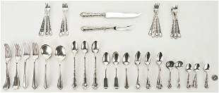 81 Pcs. of Sterling Flatware, Assorted Makers