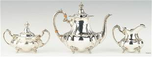 Fisher 3-Piece Sterling Silver Tea Set