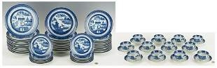 Mottahedeh Blue Canton Dinner Service for 12