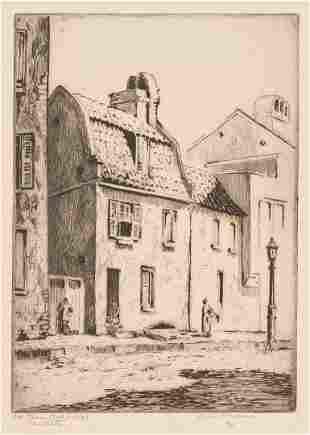 Elizabeth O'Neill Verner, Charleston Old Tavern Pink