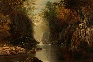 Edmund Niemann O/C Mountain Landscape
