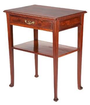Majorelle Signed Art Nouveau Square Table