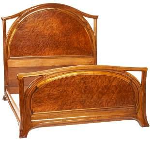 Majorelle French Art Nouveau Bed