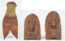 3 Jerry Coker Outsider Art Human Sculptures