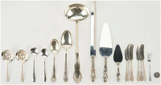 17 Pcs Assorted Sterling Silver Flatware