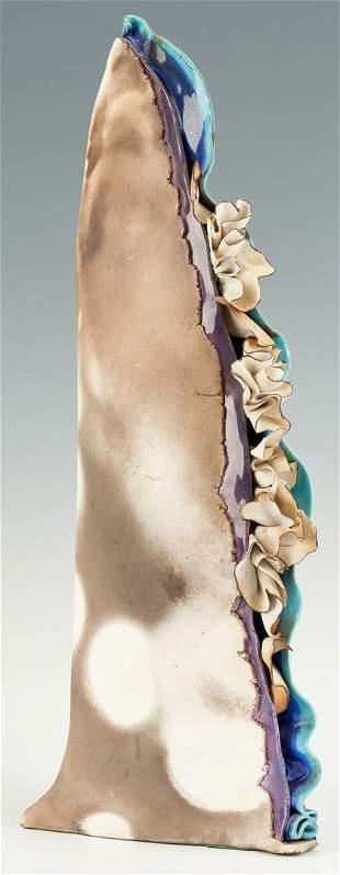 Sylvia Hyman Tall Ceramic Sculpture