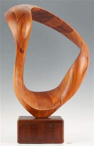 Robert Longhurst Abstract Wood Sculpture