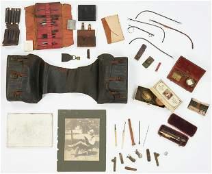 Wm. Steptoe Reid TN 19th C. Medical Bag & Photo