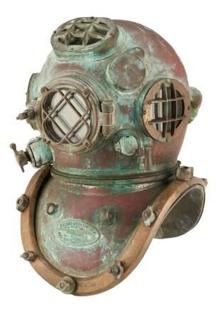 U.S. Navy Morse Mark V Dive Helmet 1942