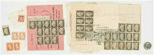 "39 Andrew Jackson ""Black Jack"" Stamps, 47 items"