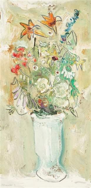 Sterling Strauser O/B Floral Still Life