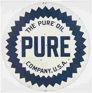 Large Pure Oil Double Sided Porcelain Enamel