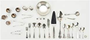 31 Assorted Sterling Items, incl. Flatware