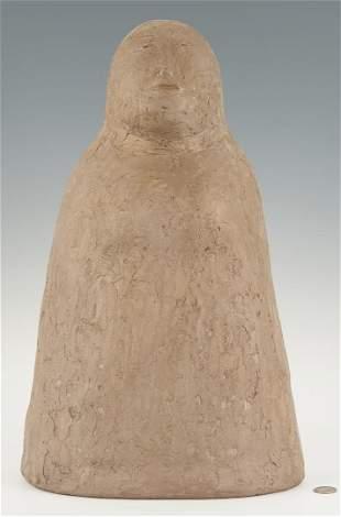 Olen Bryant Tall Ceramic Sculpture