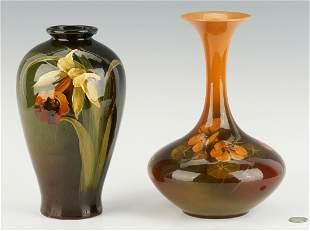 2  Pcs. Art Pottery,  incl. Rookwood