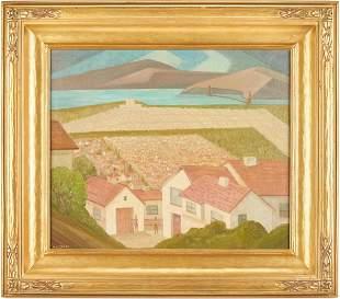 William Eckert O/C, California Landscape