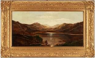 Charles R. Leslie O/C British Lake Scene