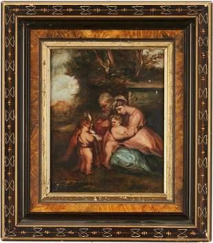 After Sir Joshua Reynolds, O/C, Holy Family