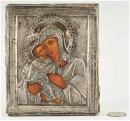 Russian Icon Madonna and Child