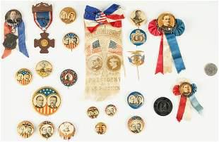 23 Presidential Campaign Ephemera Items, incl.