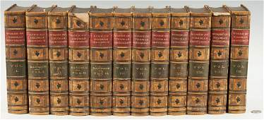 12 Book Set, Works and Life of Thomas Jefferson,