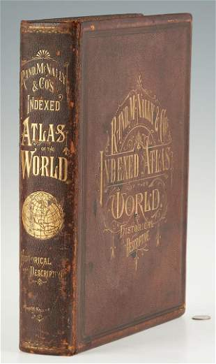 Rand, McNally, & Co. World Atlas, 1881