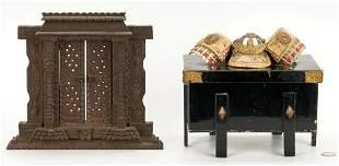 Asian Samurai Box & Shrine Portal