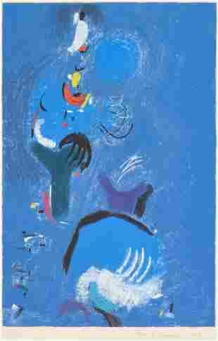 Max Ackermann Abstract Print, 93/100