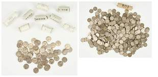 839 US Coins, incl. Susan B. Anthony, Nickels