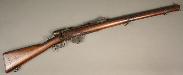 5: Vetterli Model 1870 rifle