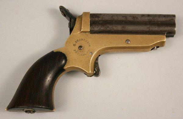 10: Sharp's .22 caliber Pepper-box pistol
