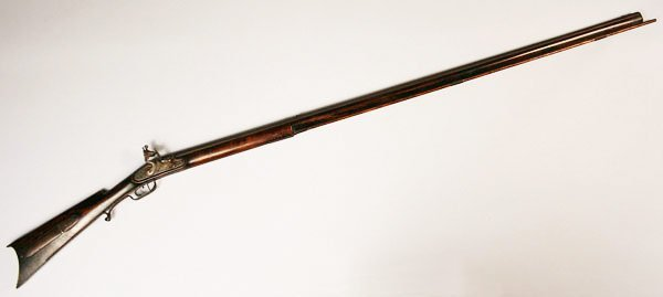 13: William N. Beals long rifle