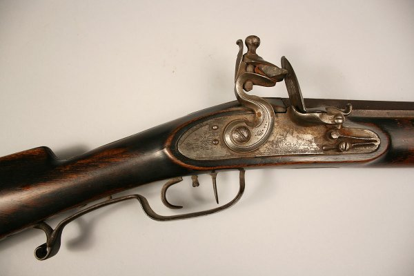 13: William N. Beals long rifle - 4