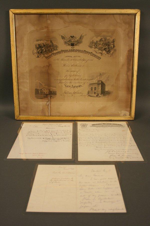 24: General Patterson letters