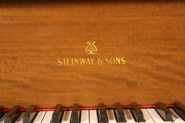 102: 1925 Steinway Baby Grand Piano, Model M - 2